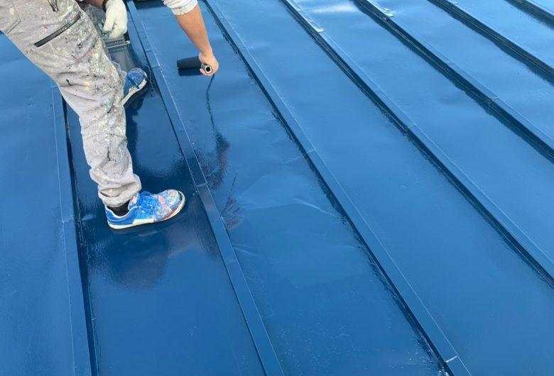 郡山市,屋根塗装,エポマイルド.ルーフマイルドSi